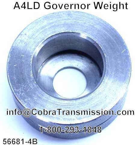 A4LD Governor Weight
