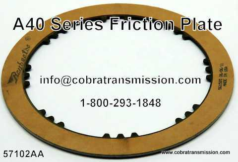 A40 Series Friction Plate, Overdrive Brake