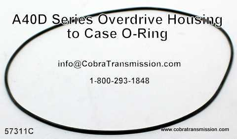 A40 Series O-Ring, Overdrive Housing to Case