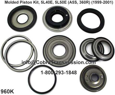 Molded Piston Kit, 5L40E, 5L50E (A5S, 360R) (1999-2001)
