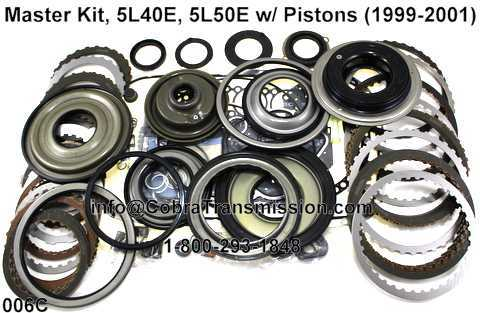 5L40 E 5L50E with Pistons Kit Master 4l40e, 5l40e (m82), 5l50e (m22) , cobra transmission GM 4L60E Transmission at couponss.co