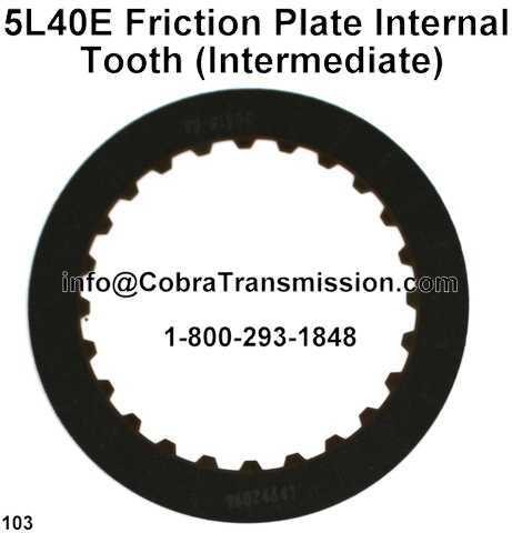 5L40E Friction Plate Internal Tooth (Intermediate)