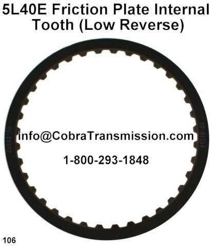 5L40E Friction Plate Internal Tooth (Low Reverse)