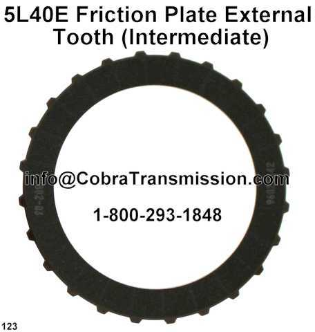 5L40E Friction Plate External Tooth (Intermediate)