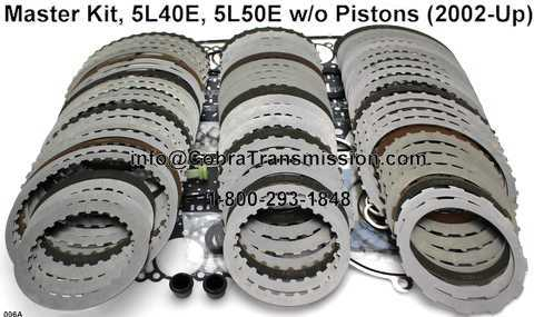 Master Kit, 5L40E, 5L50E w/o Pistons (2002-Up)