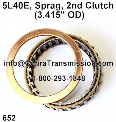 "5L40E, Sprag, Segundo Embrague (3.415"" OD)"
