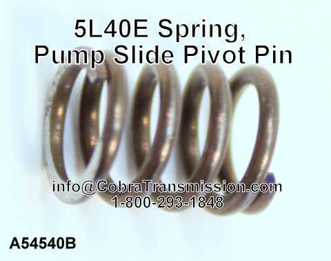 5L40E Spring, Pump Slide Pivot Pin