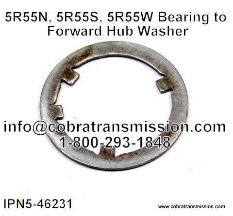 5R55N, 5R55S, 5R55W Bearing to Forward Hub Washer