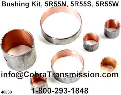 Bushing Kit, 5R55N, 5R55S, 5R55W