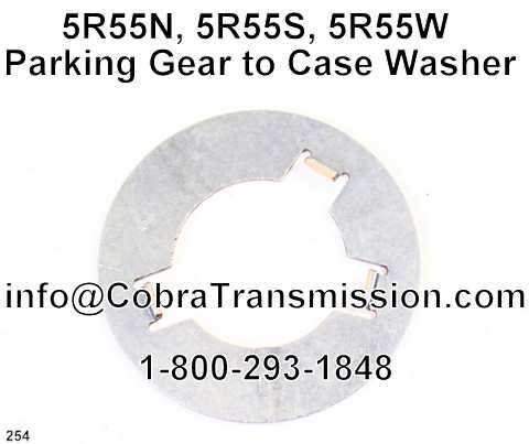 5R55N, 5R55S, 5R55W Parking Gear to Case Washer