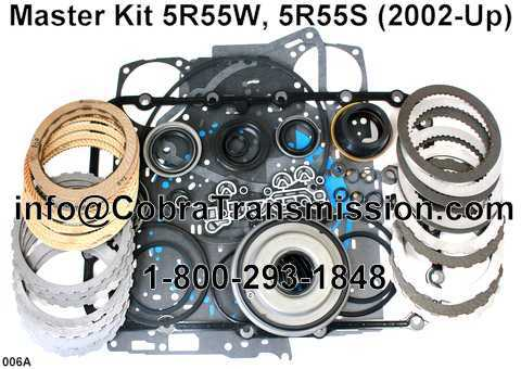 Master Kit 5R55W, 5R55S (2002-Up)