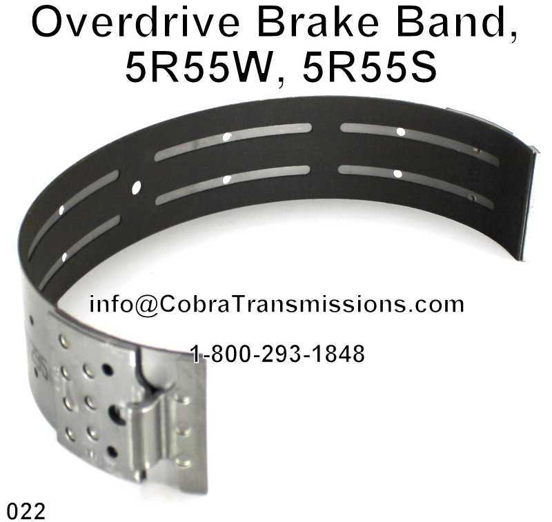 Overdrive Brake Band, 5R55W, 5R55S