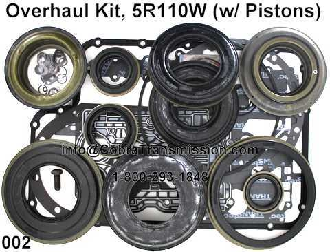Overhaul Kit, 5R110W (w/ Pistons) (OHK does not include 4wd Rear