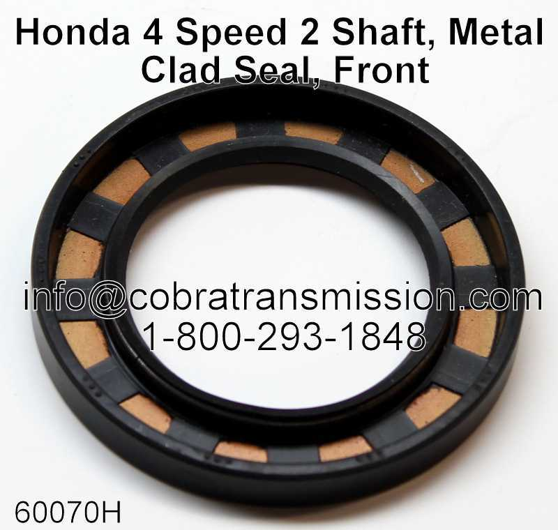 Honda 4 Speed 2 Shaft, Metal Clad Seal, Front