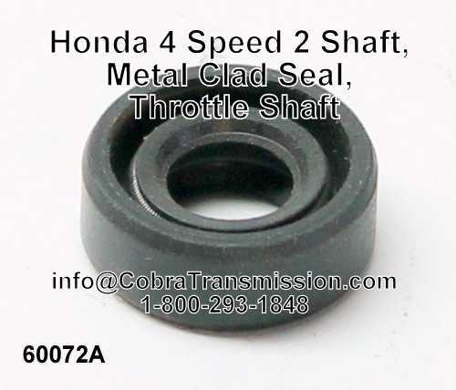 Honda 4 Speed 2 Shaft, Metal Clad Seal, Throttle Shaft