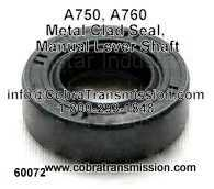 A750, A760 Metal Clad Seal, Manual Lever Shaft