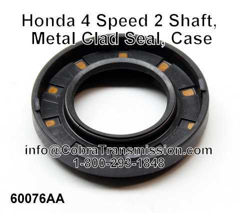 Honda 4 Speed 2 Shaft, Metal Clad Seal, Case