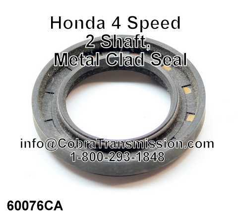 Honda 4 Speed 2 Shaft, Metal Clad Seal