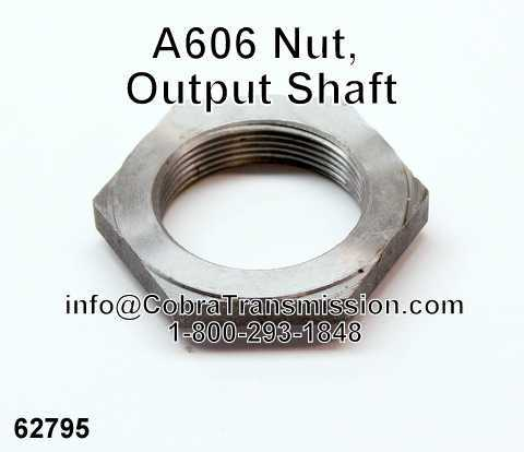 A606 Nut, Output Shaft
