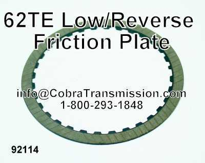 62TE Low/Reverse Friction Plate