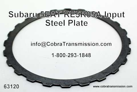 RE5R05A Input Steel Plate