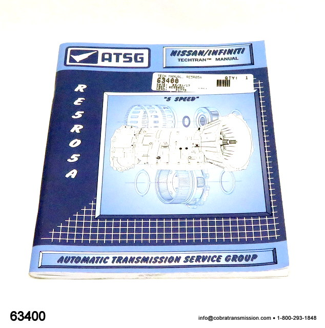 RE5R05A ATSG Manual Técnico
