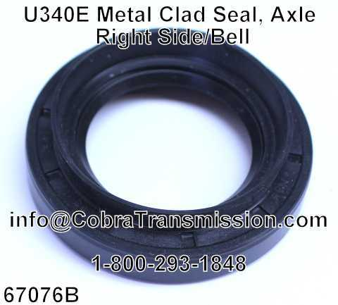 U340E Metal Clad Seal, Axle Right Side/Bell