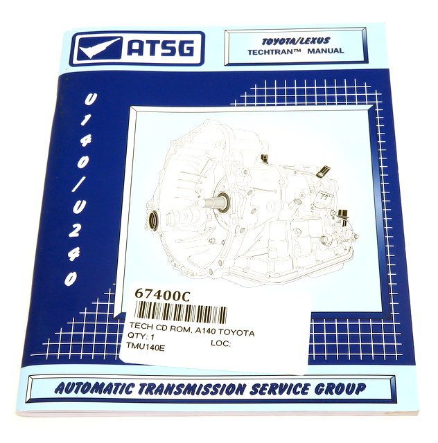 Technical - Repair Manual, Toyota A140