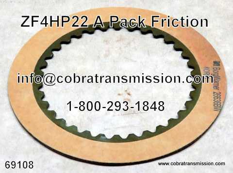 ZF4HP22, A Pack, Friction