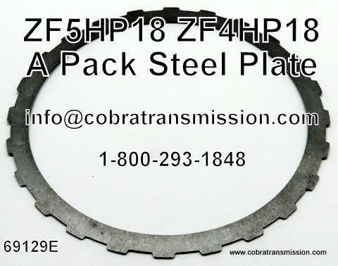 ZF5HP18, Steel Plate, A Pack