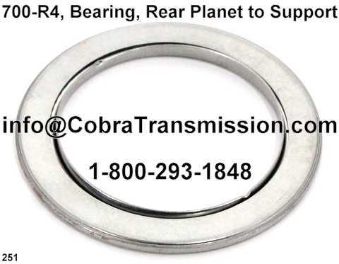 700-R4, Bearing, Rear Planet to Support