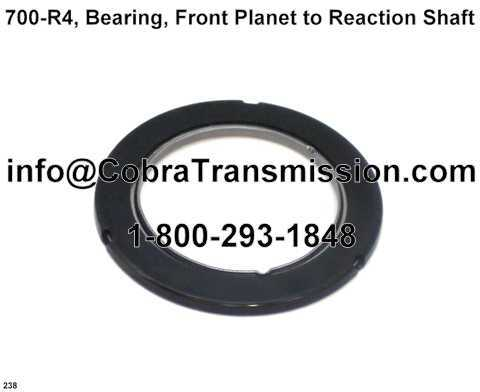 700-R4, Bearing, Front Planet to Reaction Shaft
