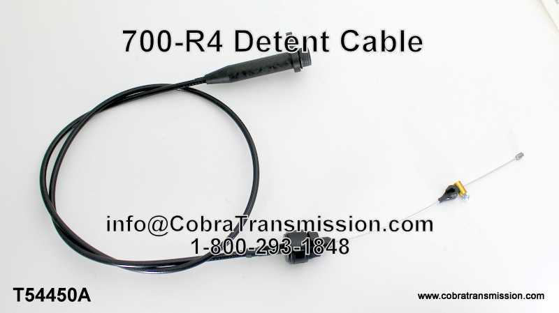 700-R4, Detent Cable