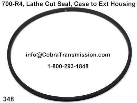 700-R4, Lathe Cut Seal, Case to Ext Housing