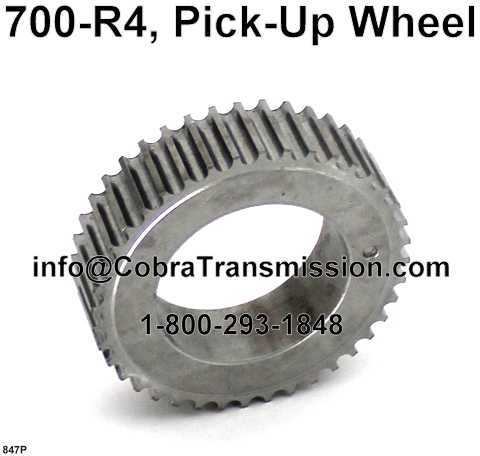 700-R4, Pick-Up Wheel