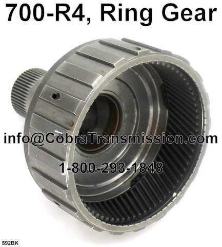 700-R4, Ring Gear (Good - Used)