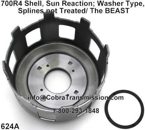 Shell, Sun Reaction; Washer Type, Splines not Treated/ The BEAST