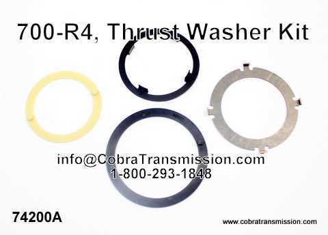 700-R4, Thrust Washer Kit