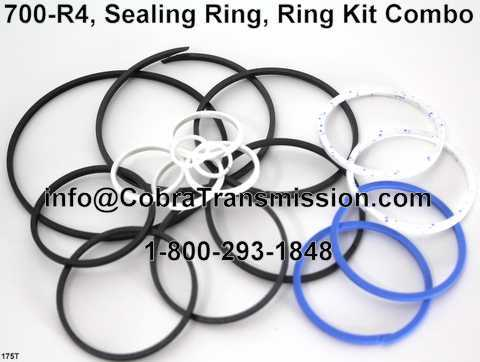 700-R4, Sealing Ring, Ring Kit Combo