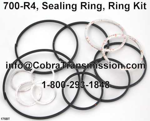 700-R4, Sealing Ring, Ring Kit