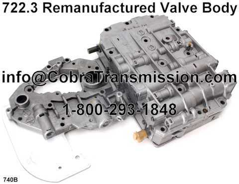 722.3 Good Used Valve Body
