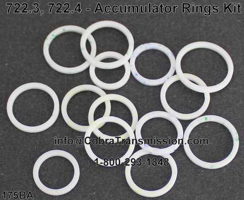 722.3, 722.4 - Accumulator Rings Kit