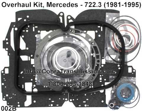 Overhaul Kit, Mercedes - 722.3 (1981-1995)