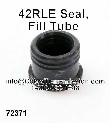 42RLE Seal, Fill Tube