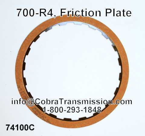 700-R4, Friction Plate