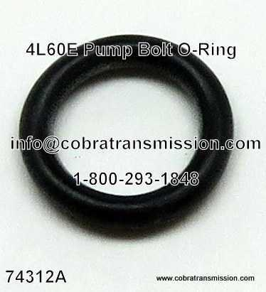 4L60E, O-Ring, Pump Bolt