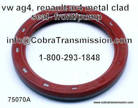 VW AG4 Metal Clad Seal, Front