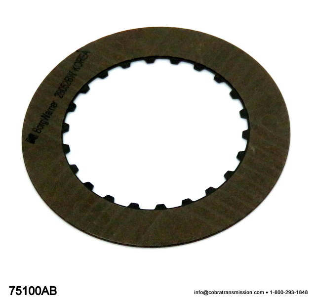 VW AG4, Friction Plate, 3-4 Clutch (K3)