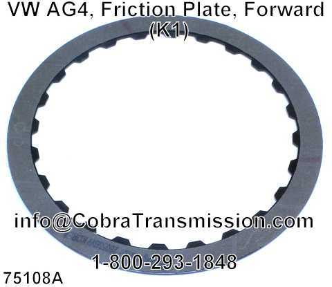 VW AG4, Friction Plate, Forward (K1)