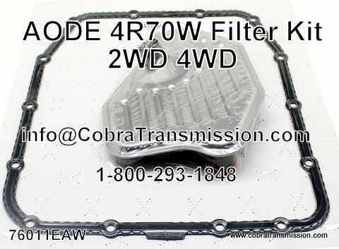 Filter Kit, AODE, 4R70W 2/4Wd (1996-Up)